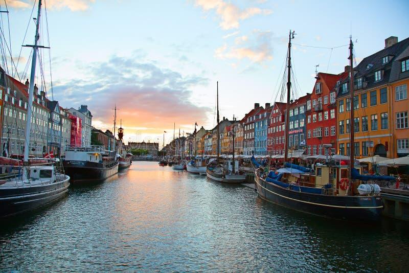 Kopenhagen stockfotos