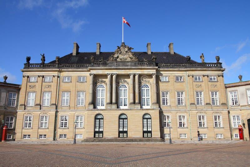 Kopenhagen - Amalienborg stockfoto