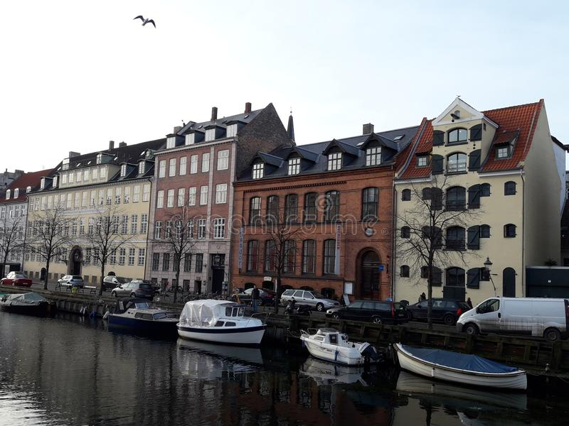 Kopenhagen Dänemark lizenzfreie stockfotos