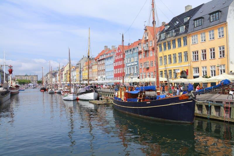 Kopenhagen, Dänemark lizenzfreie stockfotos
