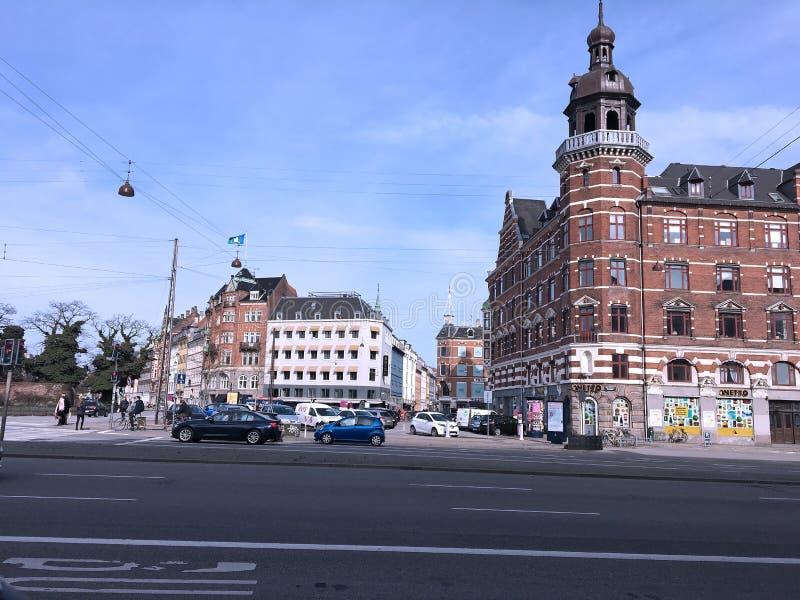 Kopenhagen in Dänemark stockfoto