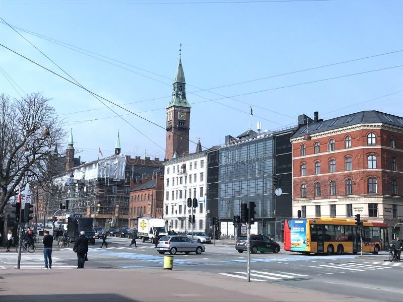 Kopenhagen im Dänemark lizenzfreies stockfoto