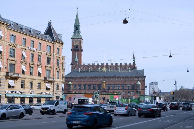 Kopenhagen im Dänemark stockfotografie