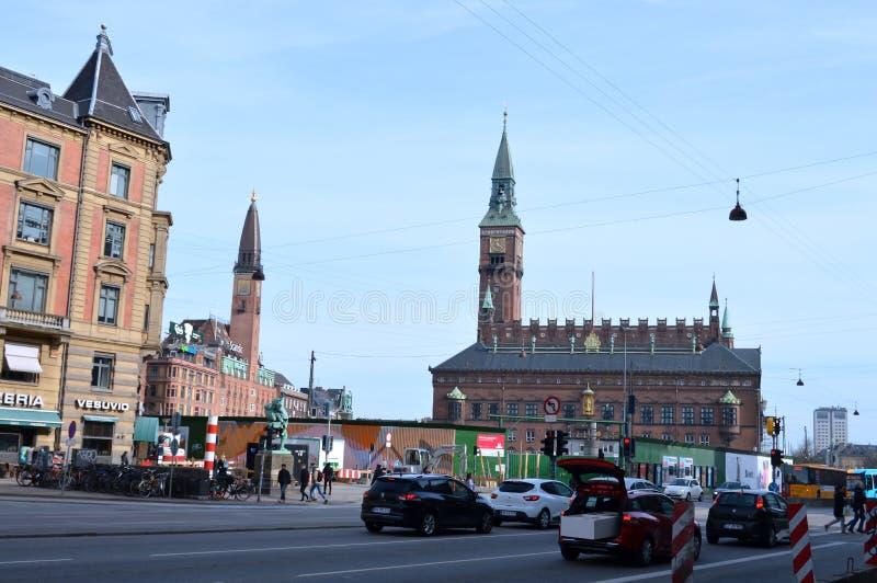 Kopenhagen im Dänemark lizenzfreie stockbilder