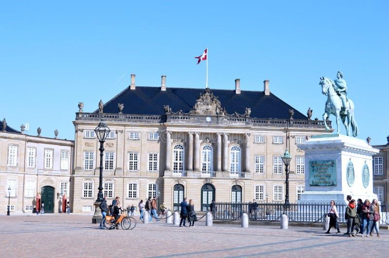 Kopenhagen im Dänemark stockbild