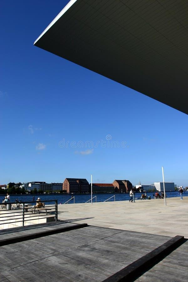 Kopenhagen-Oper stockfotos