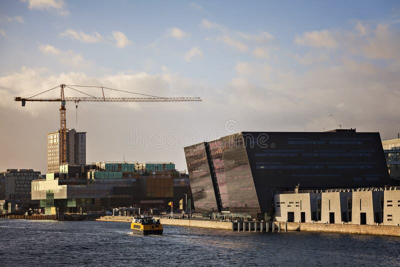 Kopenhagen-schwarzer Diamant stockfotografie