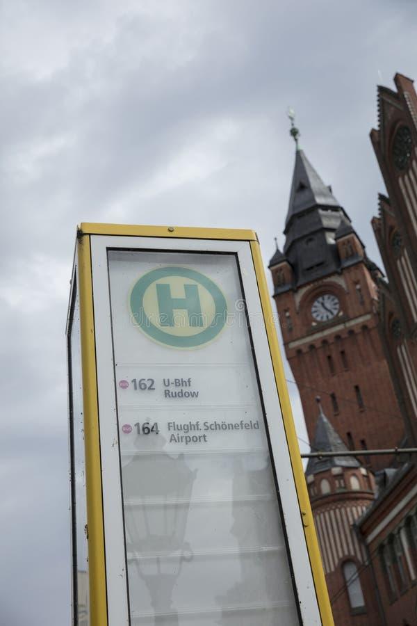 Kopenick, Berlim, Alemanha; 18 de agosto de 2018; Câmara municipal b de Rathaus fotografia de stock royalty free