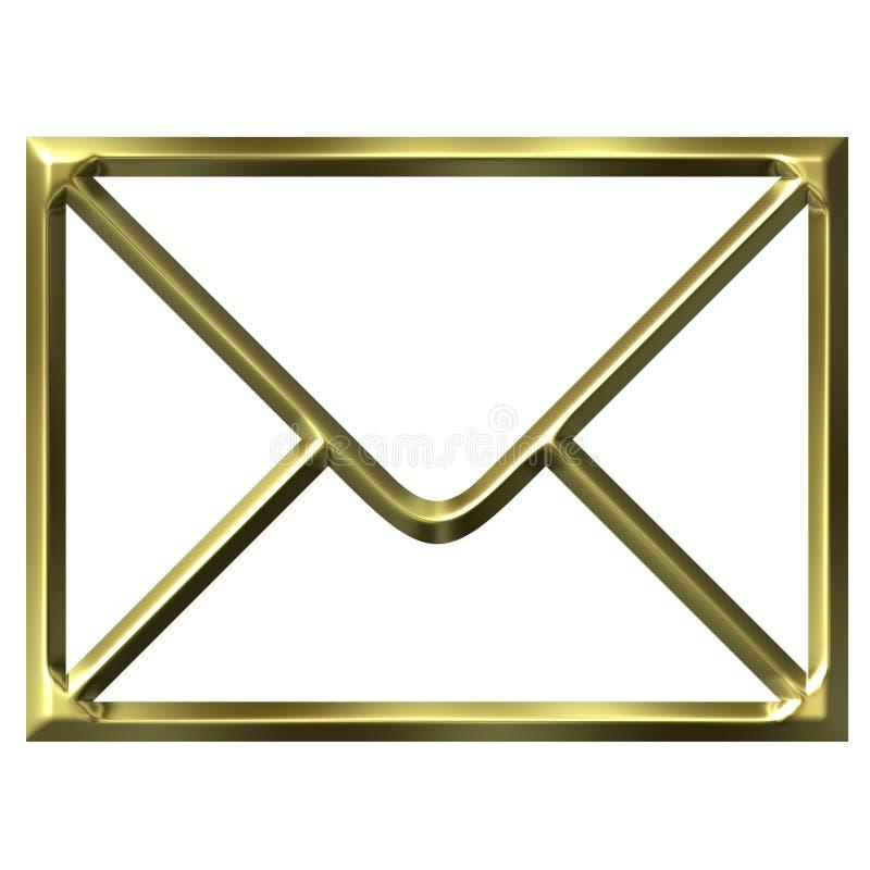 koperta złota ilustracja wektor