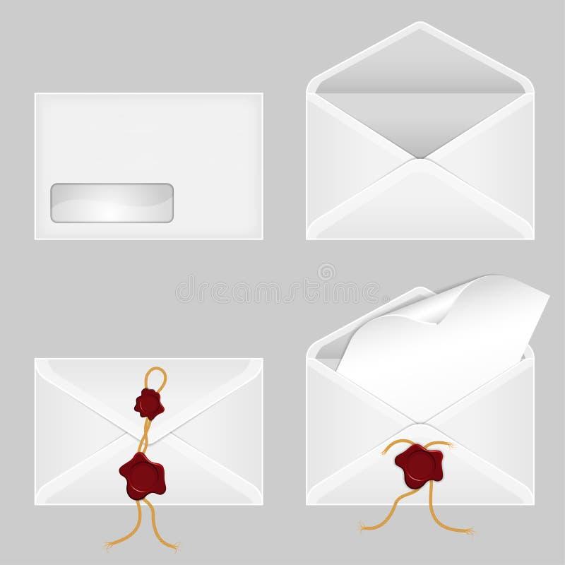koperty ustawiać ilustracja wektor
