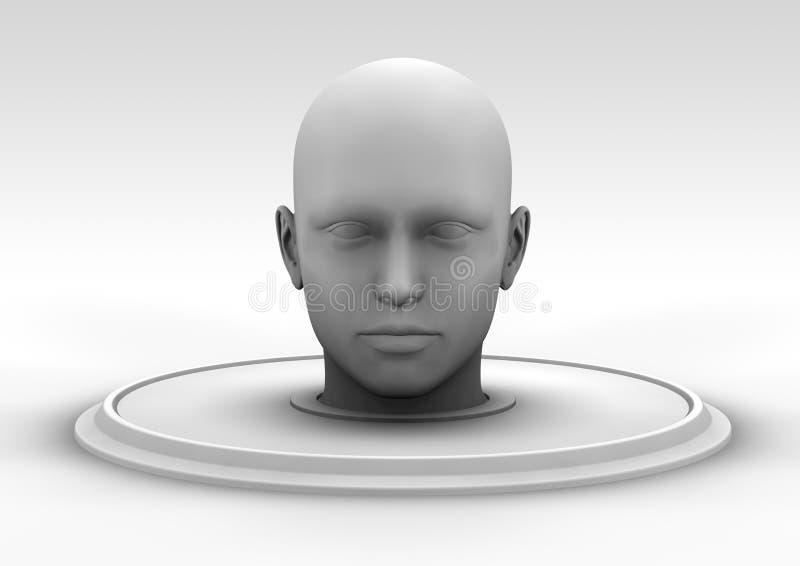 Kopf vektor abbildung