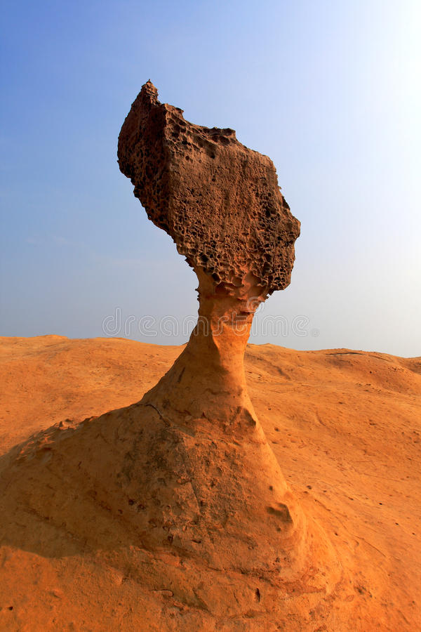 Kopf der Felsen-Königin in Taiwan lizenzfreie stockfotografie