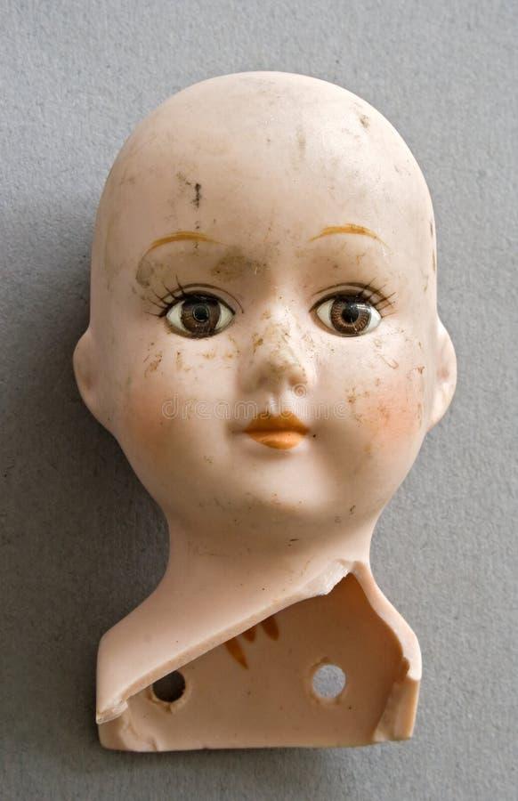 Kopf der Puppe lizenzfreies stockbild