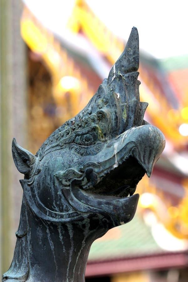 Kopf des mystischen Tieres lizenzfreie stockbilder