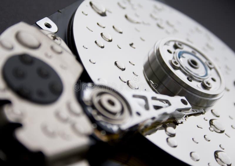Kopf eines Computerlaufwerks lizenzfreies stockbild
