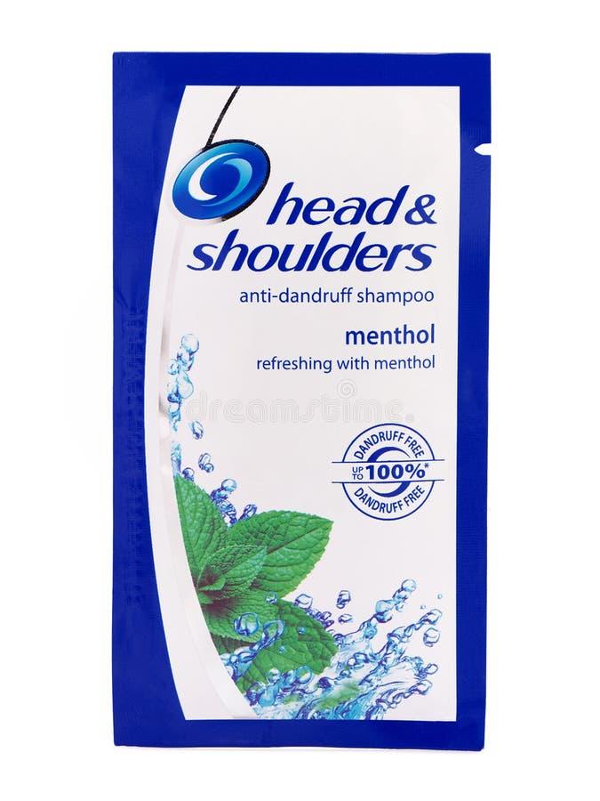 Kopf schultert Antischuppen-Shampoo-Kissen lizenzfreie stockfotografie