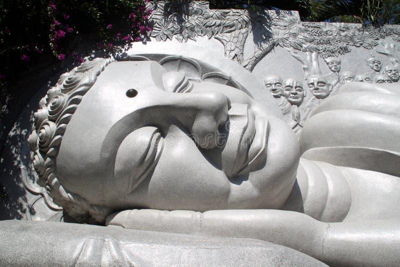 Kopf von Buddha stockbilder