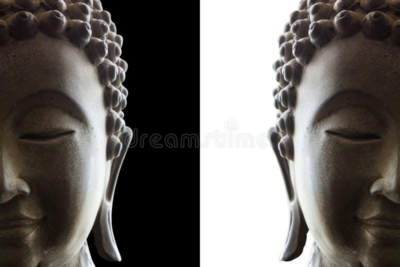 Kopf von Buddha stockfotografie