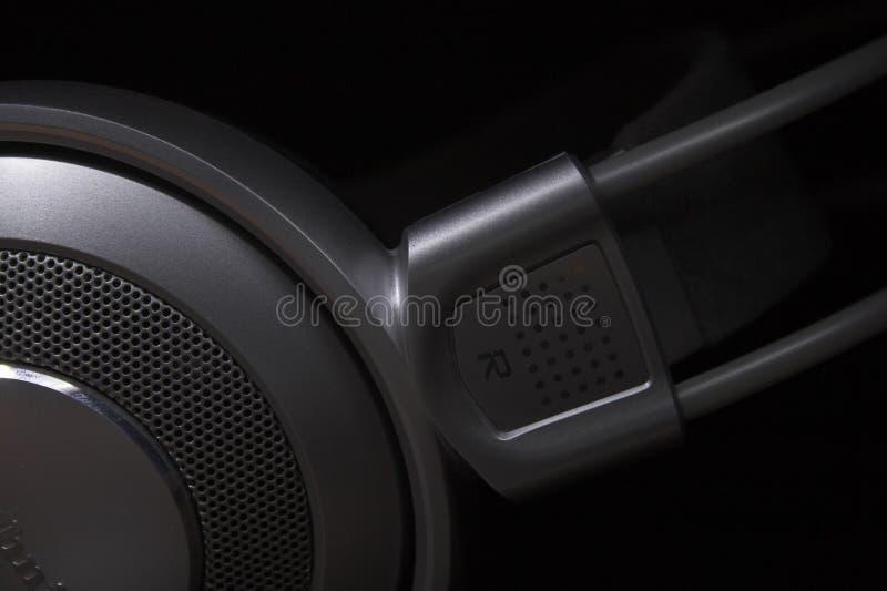 Kopfhörer lizenzfreie stockfotos