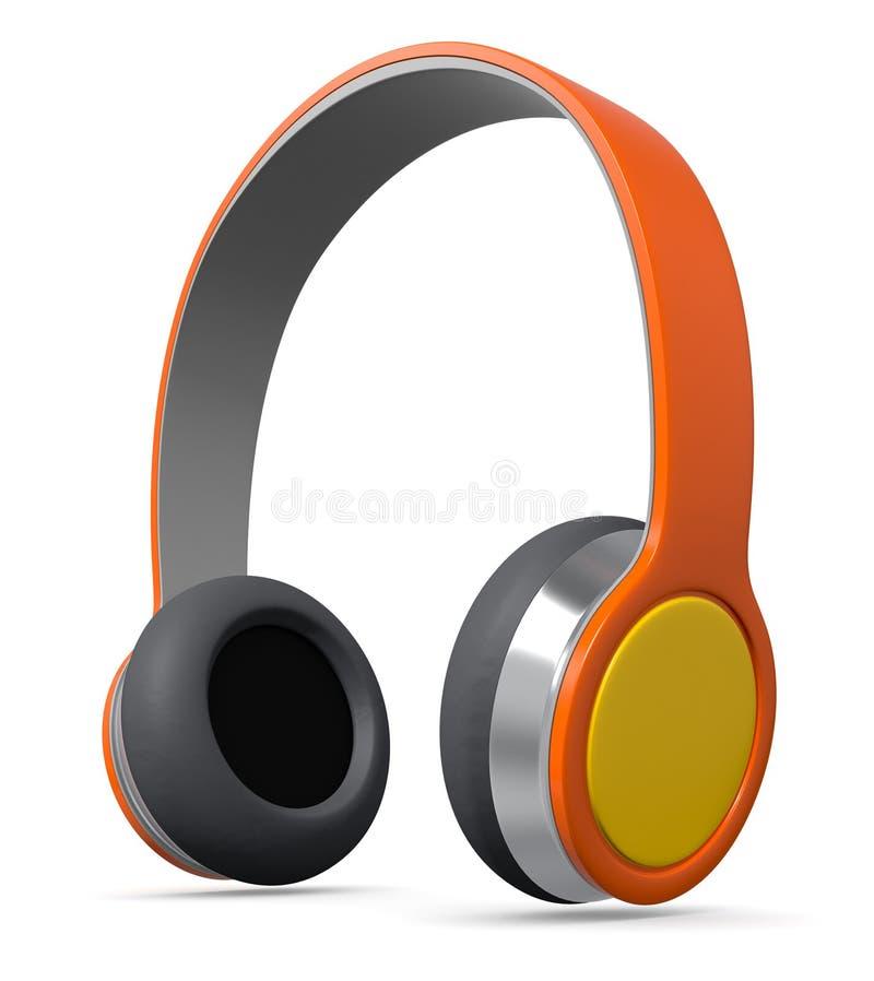 Kopfhörer stock abbildung
