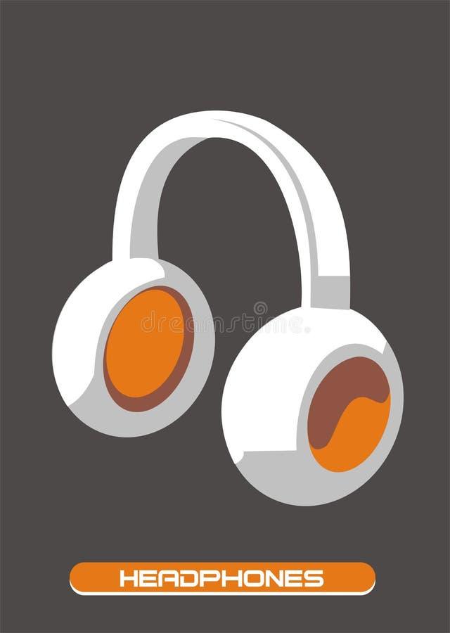Kopfhörer vektor abbildung