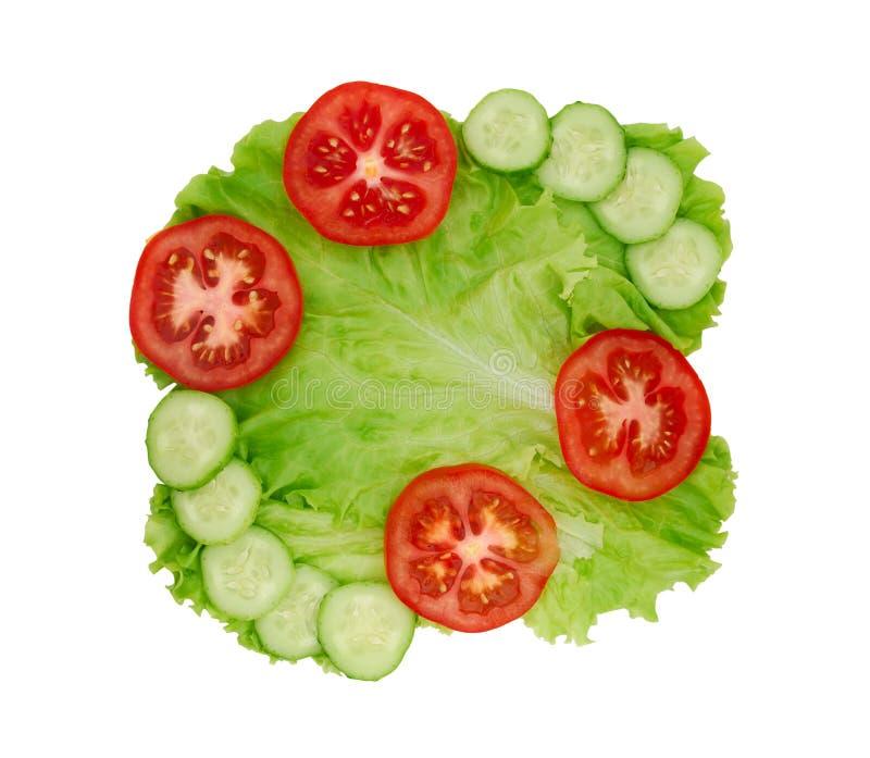 Kopfsalat stockbilder