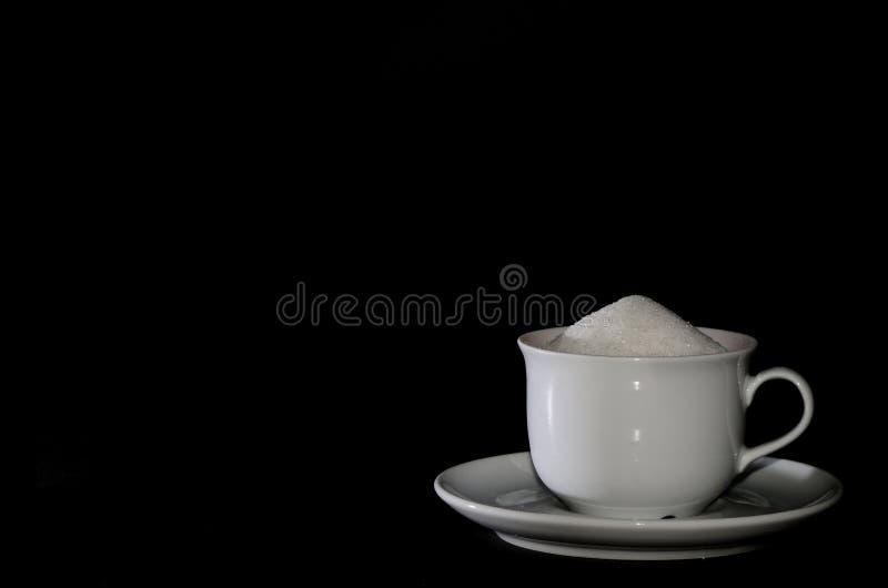 Kophoogtepunt van suiker stock foto