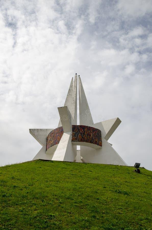 Kopiec nieśmiertelność w Bryansk, Rosja zdjęcie royalty free