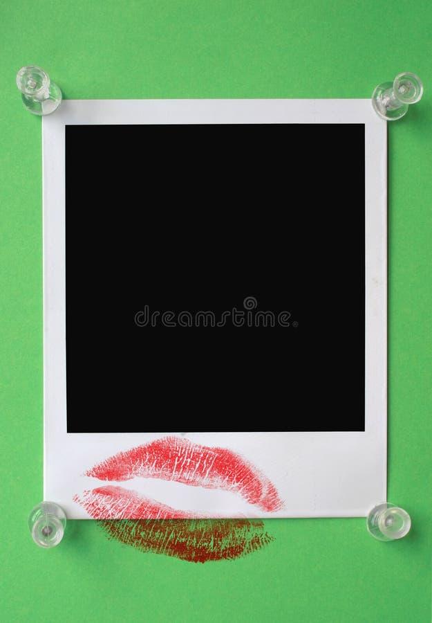kopiera ditt förälskelsemeddelandeavstånd royaltyfria bilder