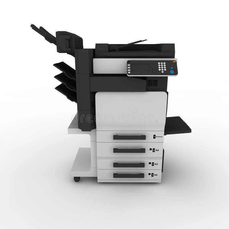 Kopieren Sie Maschine 1 vektor abbildung