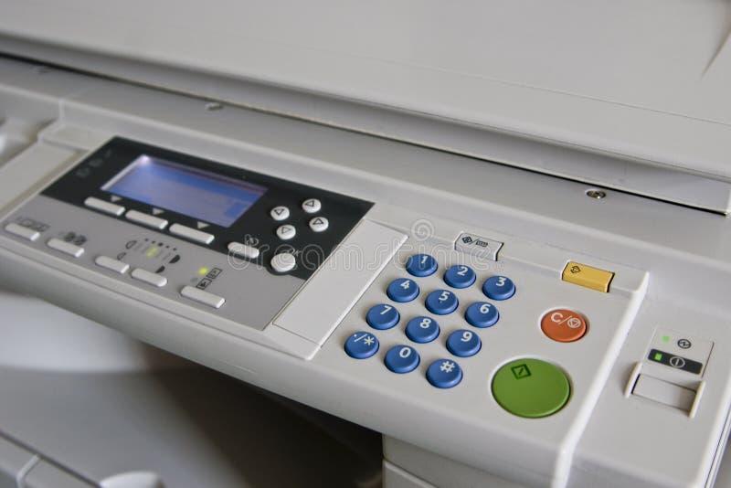 Kopierermaschine im Büro. lizenzfreie stockfotos