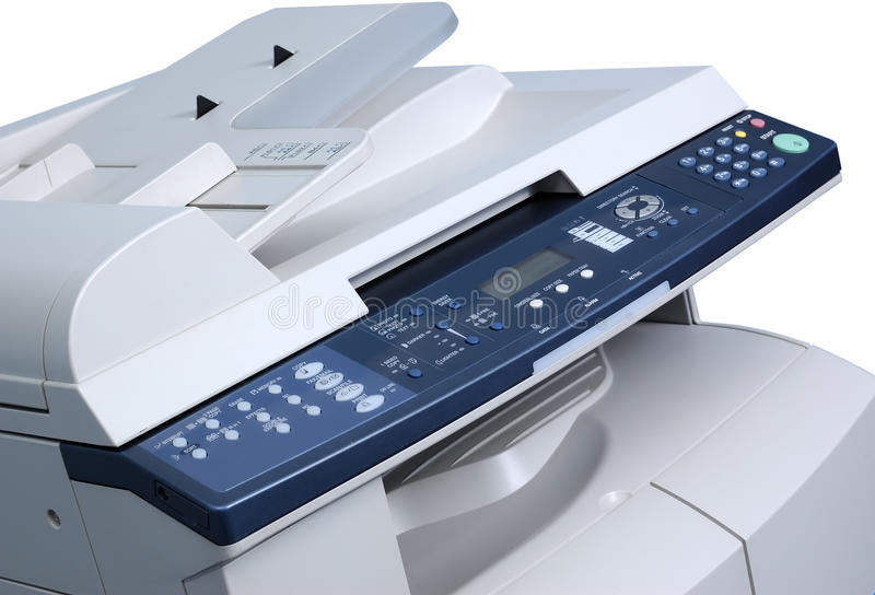 kopiowa maszyna obrazy stock