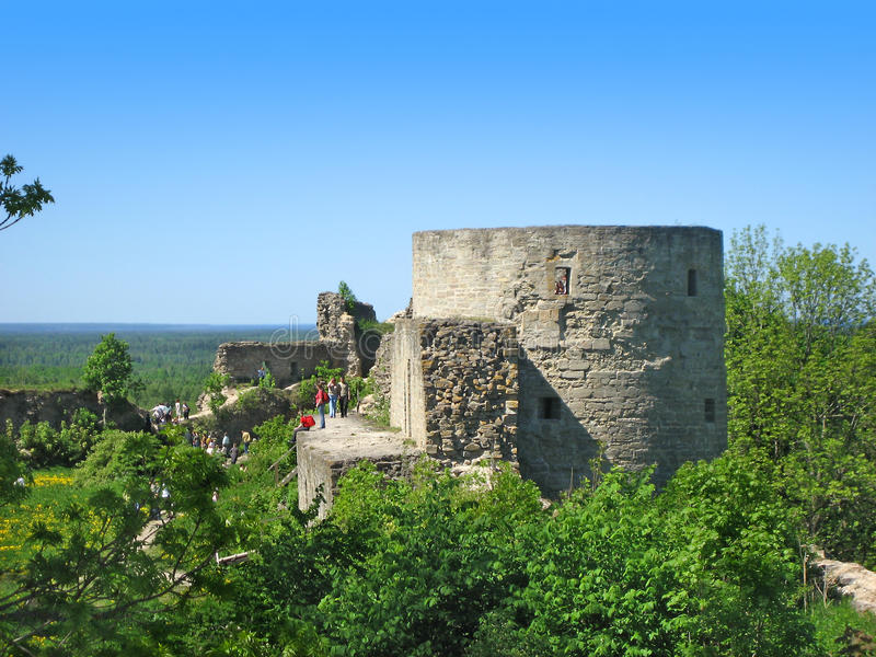 Download Koporye fortress stock photo. Image of summer, fort, construction - 14351570