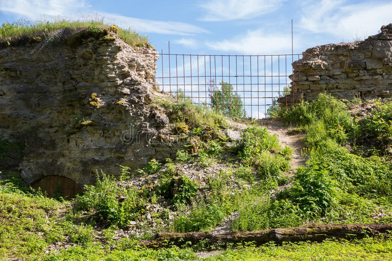 Koporye fortress in Leningrad region, Russia. Ancient Koporye fortress in Leningrad region, Russia stock images