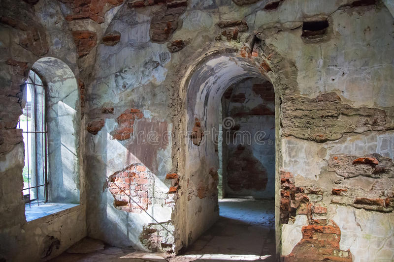 Koporye fortress in Leningrad region, Russia. Ancient Koporye fortress in Leningrad region, Russia stock image