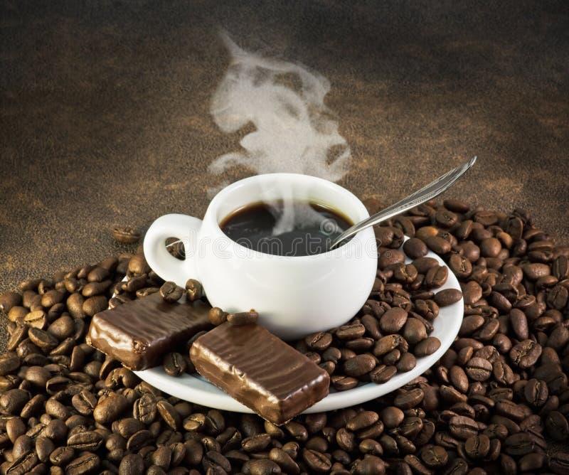 Kopp av kaffe arkivfoto