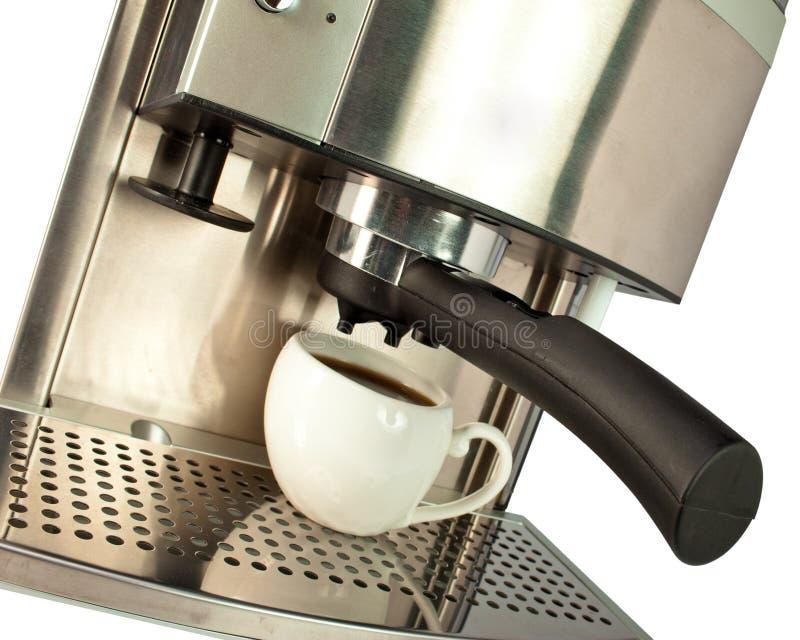 Kopp av starkt svart kaffe royaltyfria foton