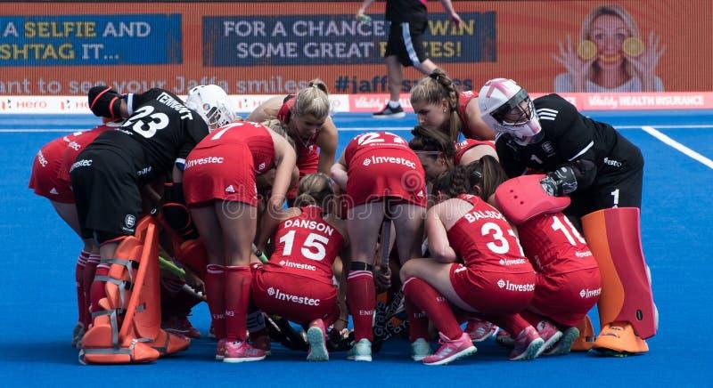 Kopp 2018 för hockey för värld för kvinna` s royaltyfri fotografi
