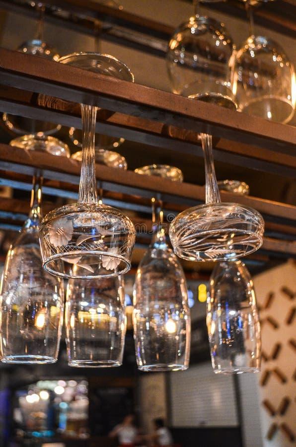 Kopp för vinexponeringsglas fotografering för bildbyråer