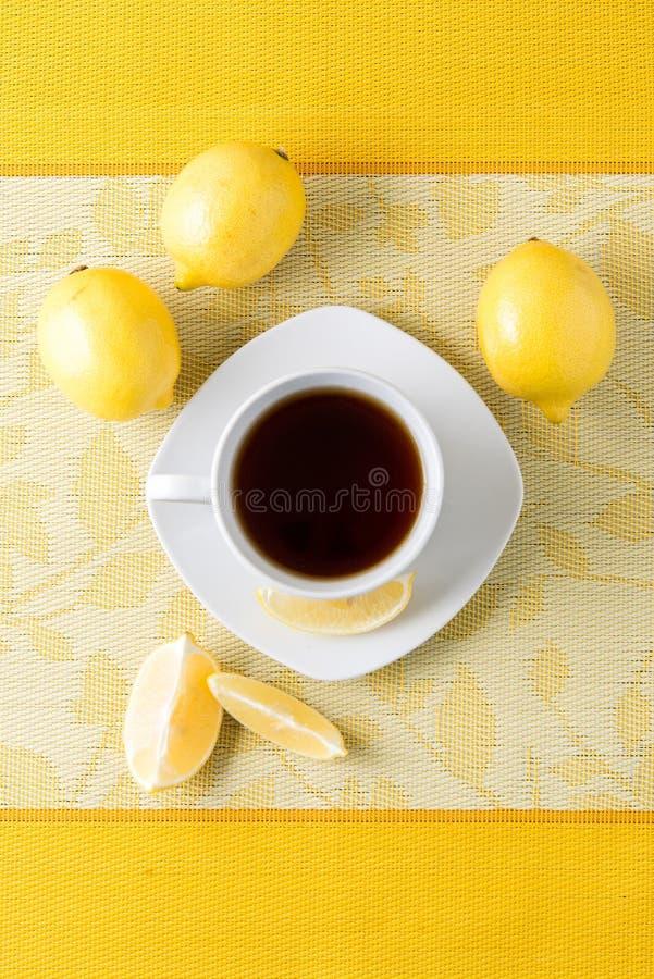 Kopp te/kaffe royaltyfria foton