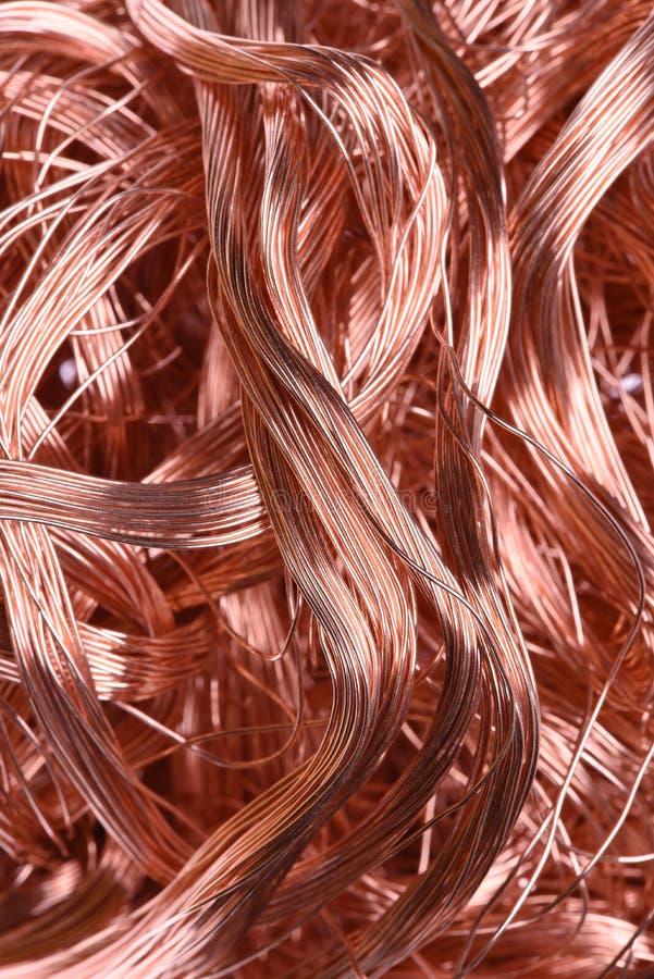 Koppartråd arkivbilder