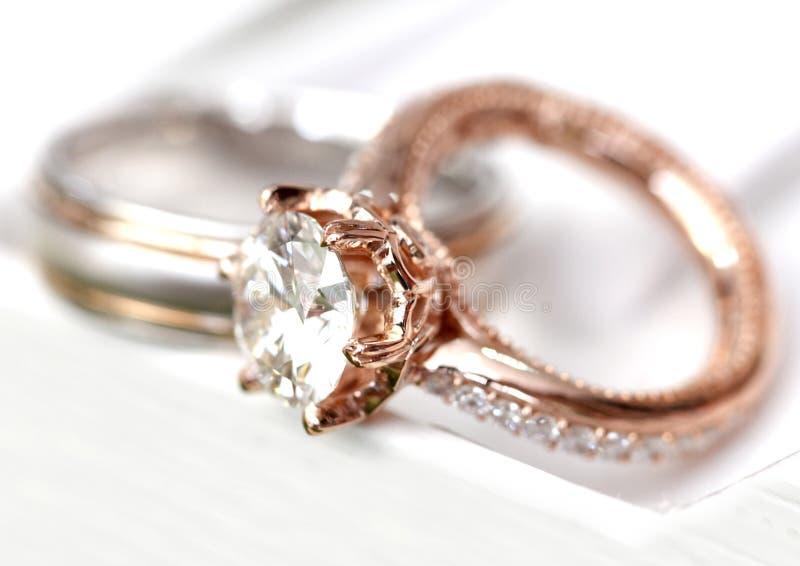 Koppel ring royalty-vrije stock foto's