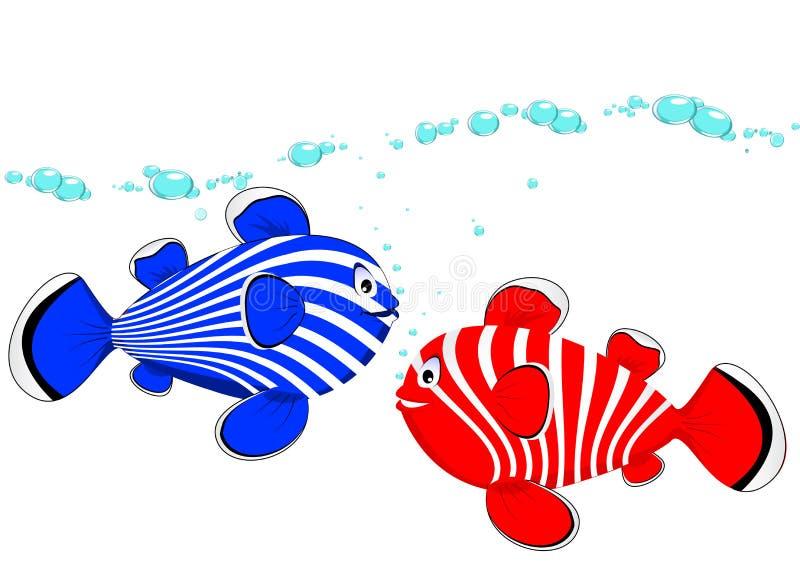 Koppel Vissen Stock Afbeelding