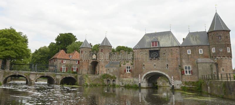 Koppelpoort in città di Amersfoort fotografia stock libera da diritti