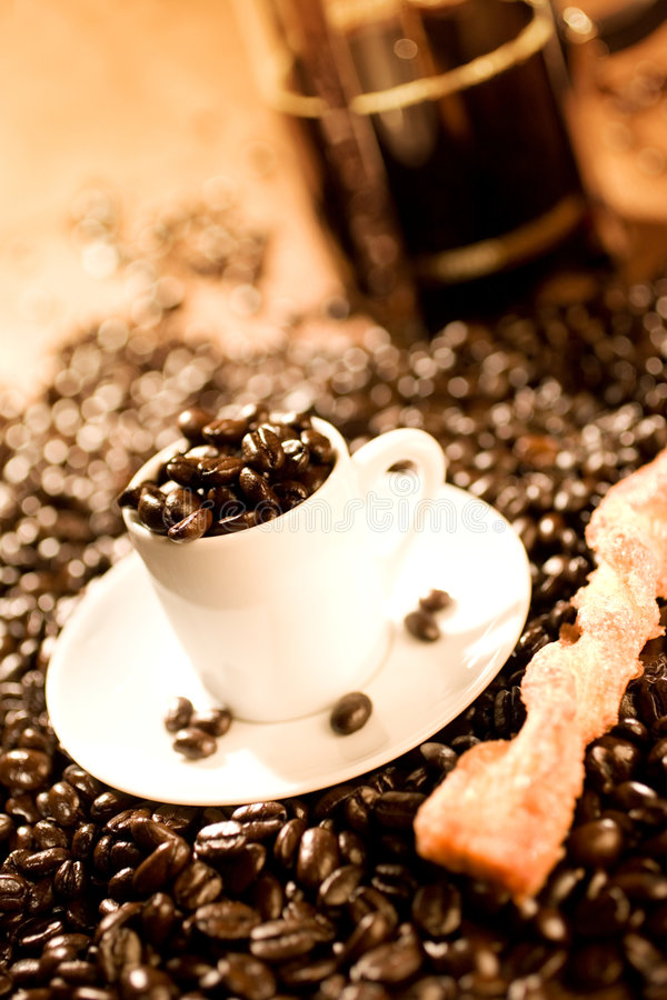 koppespresso royaltyfri foto