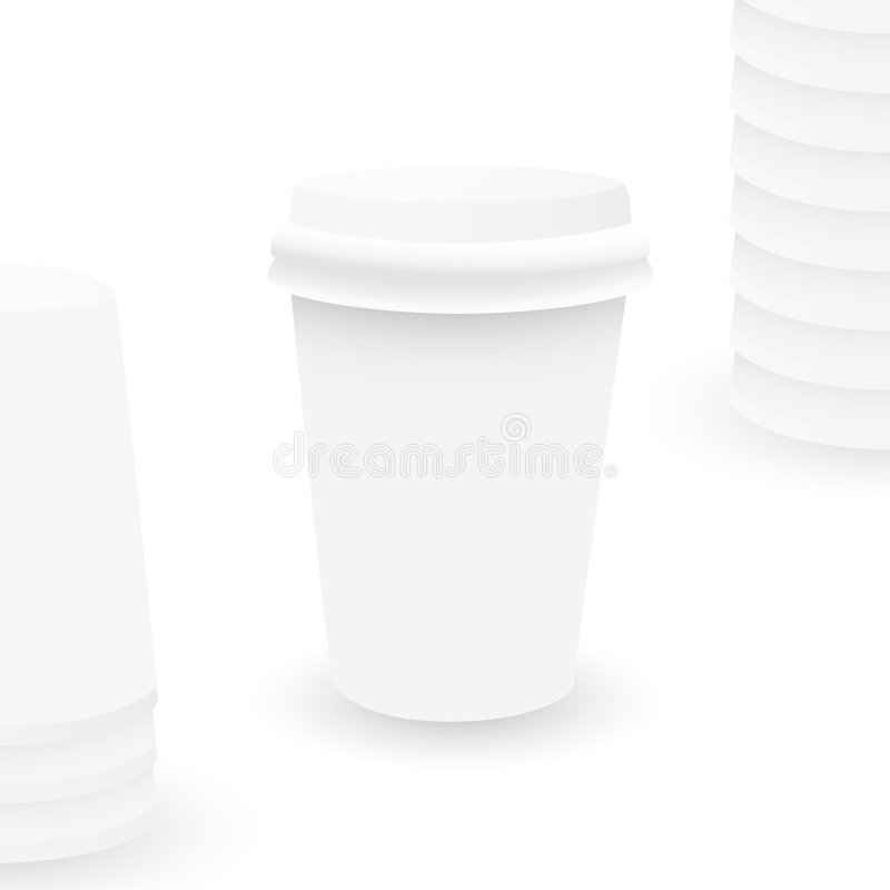koppillustrationplast- vektor illustrationer