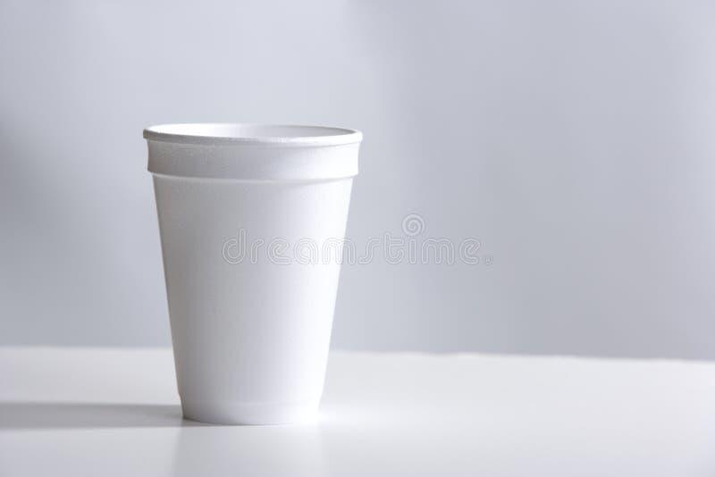 koppskrivbordstyrofoam fotografering för bildbyråer