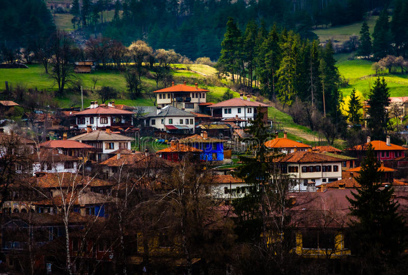 Koprivshtitsa Town in Bulgaria stock image