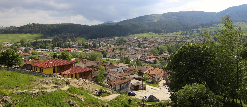 Koprivshtitsa village royalty free stock image