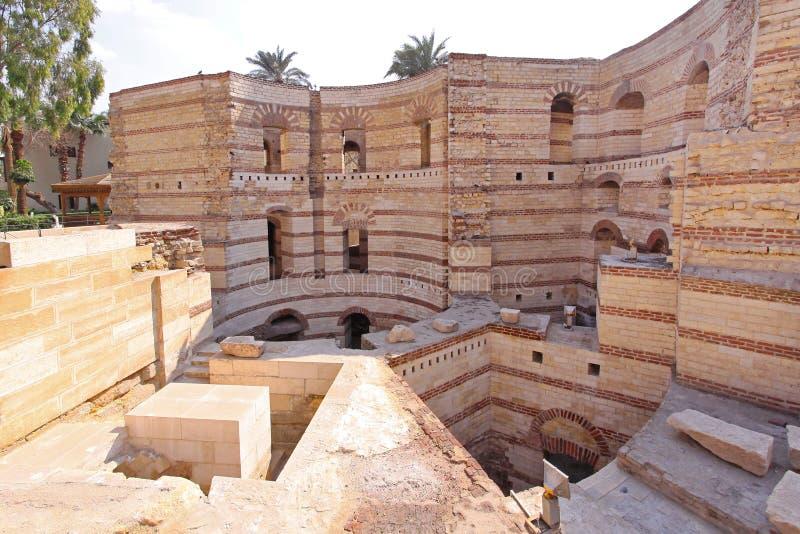 Koptisch Kaïro royalty-vrije stock foto